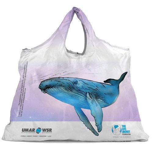 Whale Design | Foldable Shopping Bag