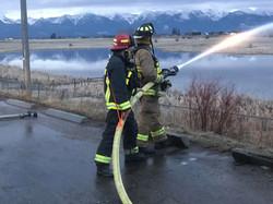 2.5 inch hose training