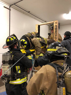 Down FireFighter Rescue Training
