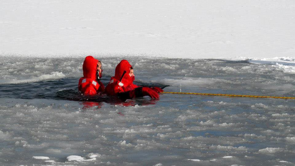 Ice-Rescue Training