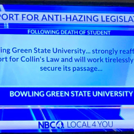 Enough is Enough: BGSU, Colin's Law, and How You Can Help