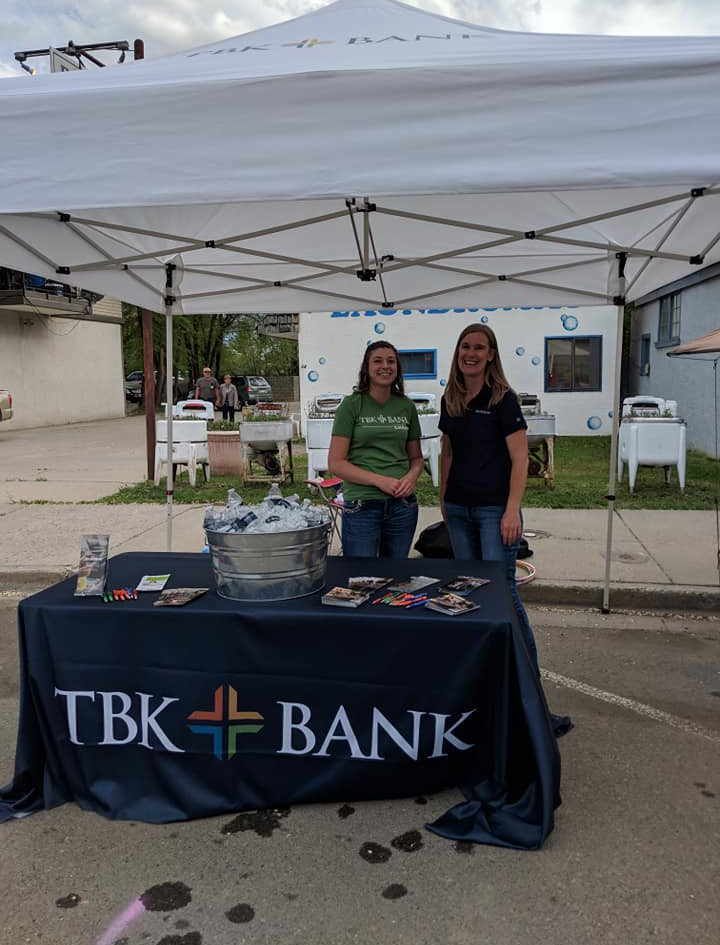 TBK at the town block party