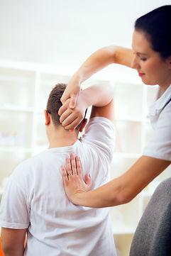 Sunnyvale Chiropractor, adjusting children