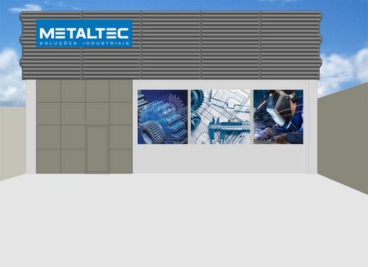 Fachada da Empresa Metaltec