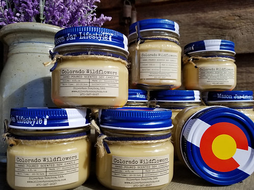 Colorado Wildflowers Soy Candle