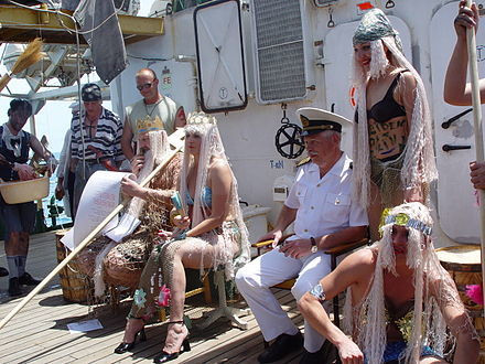 Crossing The Equator - King Neptune Ceremony