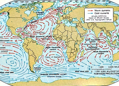 Ocean Currents & Tides