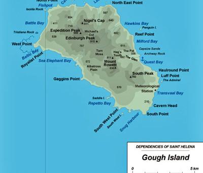 Gough Island - Drone Footage