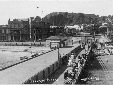 What Did Devonport - Auckland - NZ - Look Like in 1882?