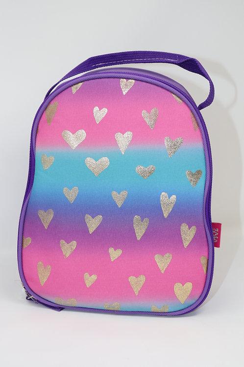 Lunch bag Golden hearts