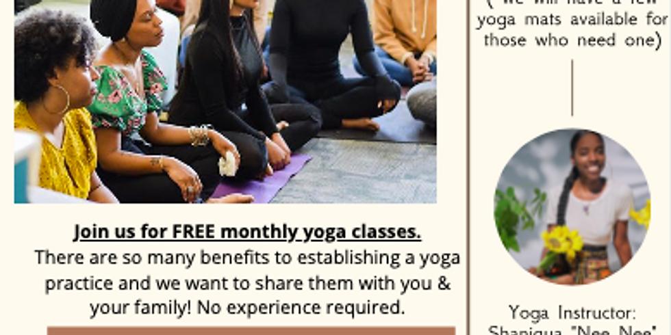 Community Yoga (In-Person)
