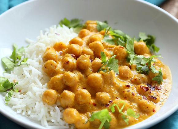 Chickpea Mango Curry
