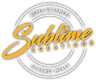 Sublime Creations Logo (White Lettering)