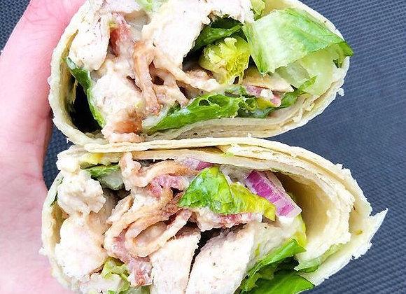 Chicken & Bacon Caesar Wrap