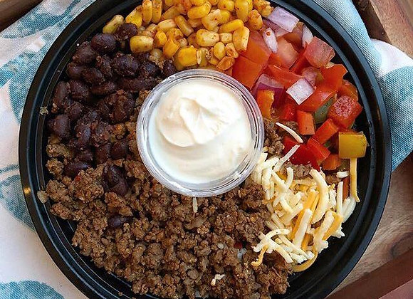 Mexican Beef Taco Bowl