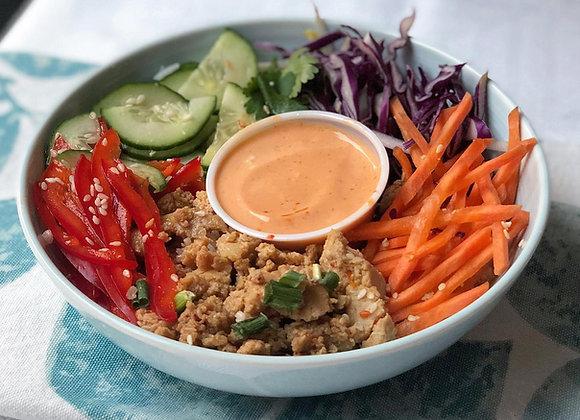 Protein Poke Bowl - Seasoned Tofu