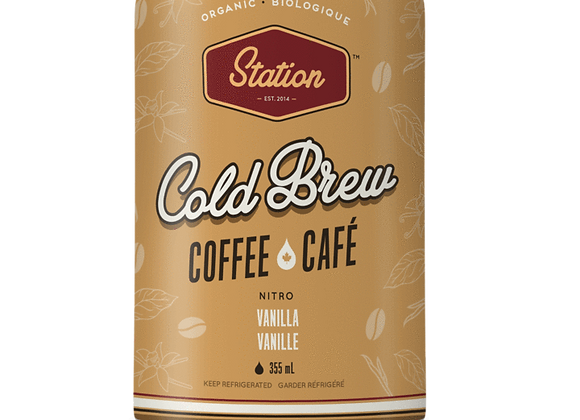 Station Cold Brew - Vanilla
