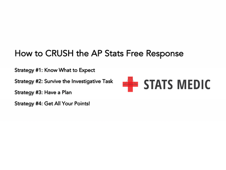 How to CRUSH the AP Stats Free Response