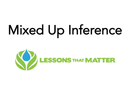 Mixed Up Inference