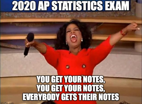 Students...have these resources ready for the 2020 AP Stats Exam!