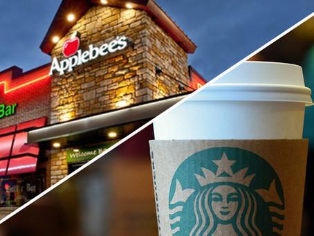 """Applebees vs. Starbucks """"OR"""""""