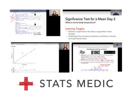 How Teachers are Using the Stats Medic Video Subscription