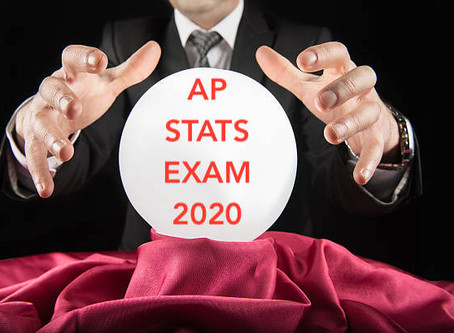 Predictions for the 2020 AP Statistics Exam