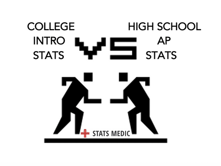 How is College Intro Stats Different from AP Stats?