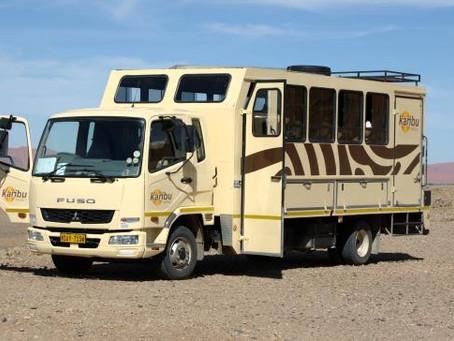 Ways to EXPLORE and TRAVEL through Namibia