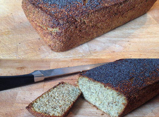 Quinoa and poppy seed loaf (GF) (V)
