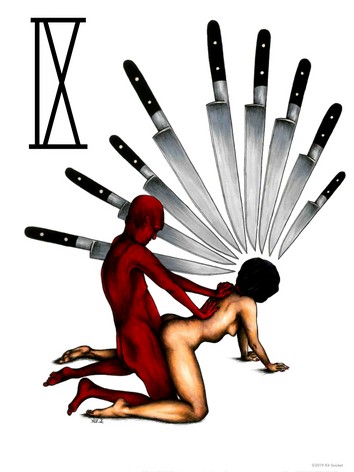 The Nine of Knives