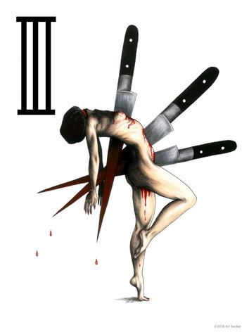 The Three of Knives