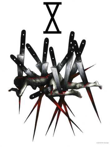 The Ten of Knives