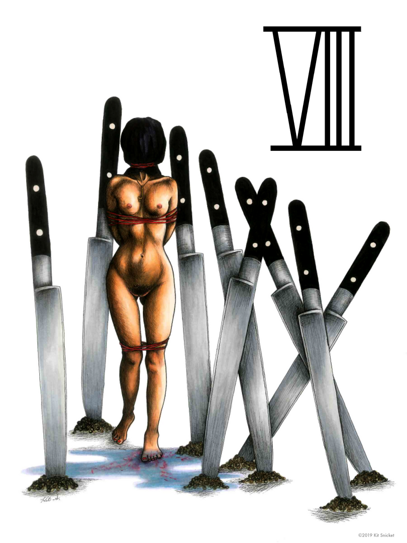 The Eight of Knives
