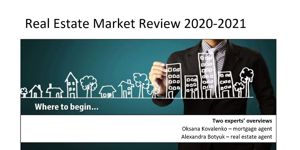 Recording of 2020-2021 Real Estate Market Review