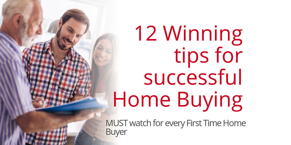 12 Winning tips for successful Home Buying