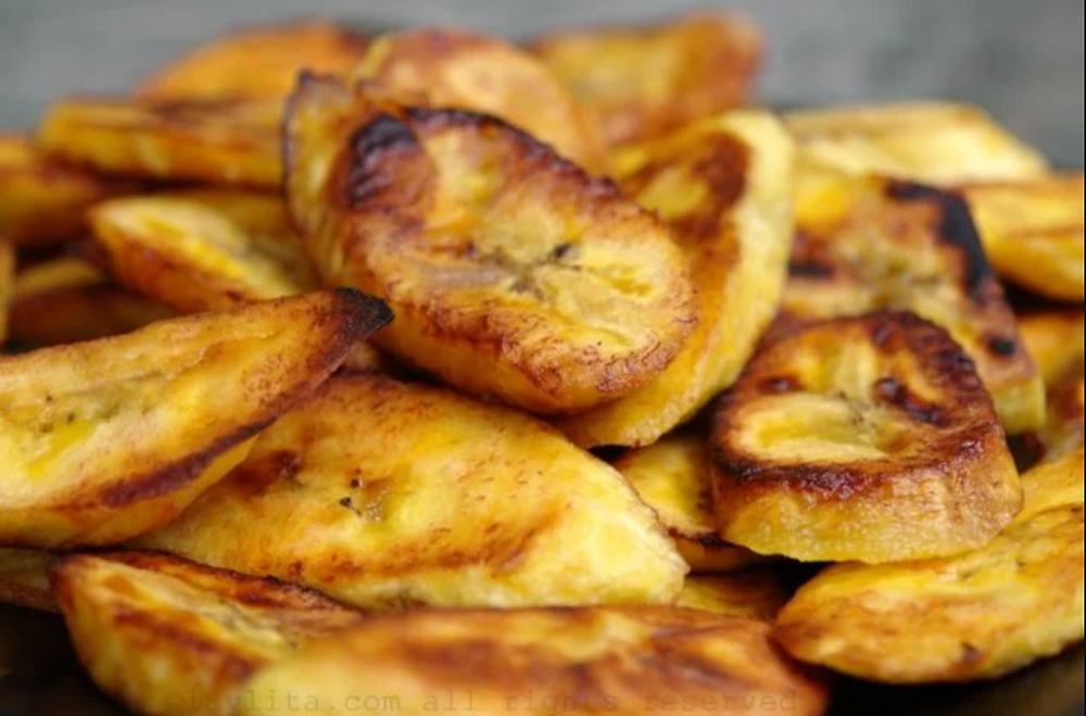 Banana-da-terra frita, Norte.