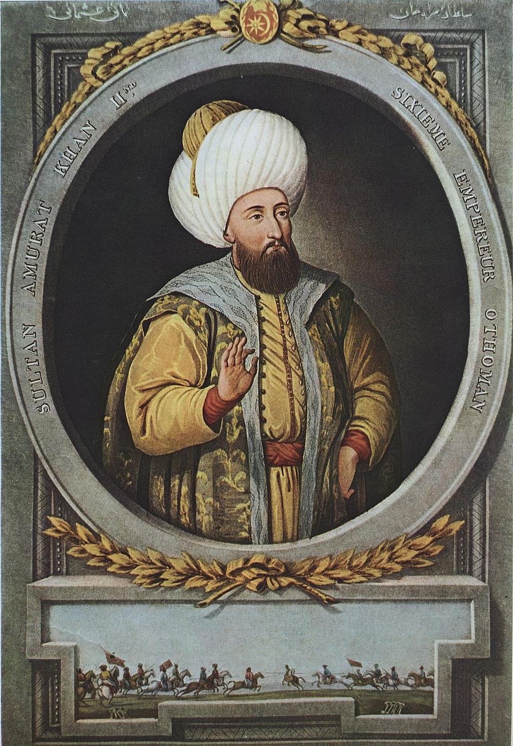 Sultão Murade III do Império Otomano, 1800.