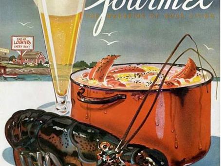 Gourmet, a primeira revista americana dedicada à comida.