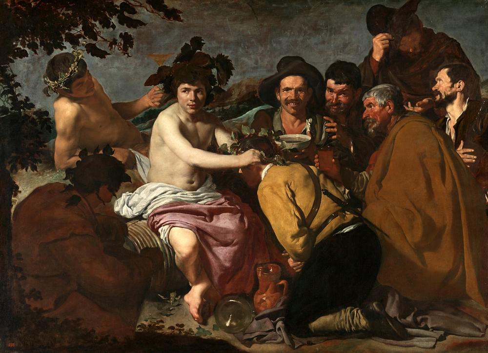 O Triunfo de Baco. Diego Velázquez