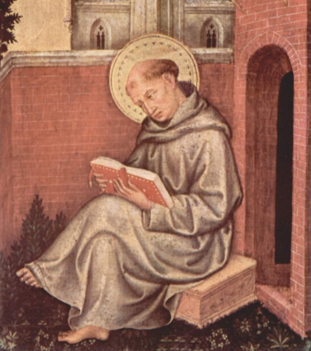 Tomás de Aquino. Gentile da Fabriano (1370-1427), c. 1400.