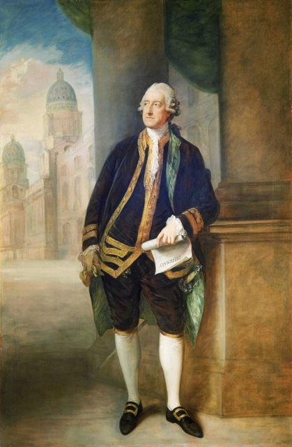 Retrato de John Montagu, 4th Conde de Sandwich