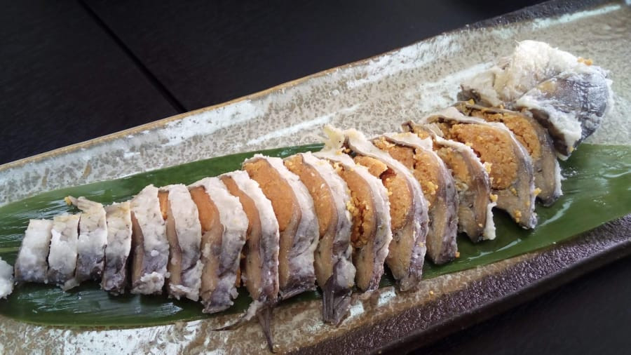 Narezushi: Peixe fermentado por anos no arroz   Biwako Visitors Bureau