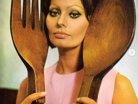 In cucina con amore, por Sophia Loren