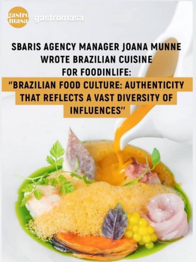 Katherina Cordás Food in Life Gastromasa Joana Munné gastronomia Brazilian food culture