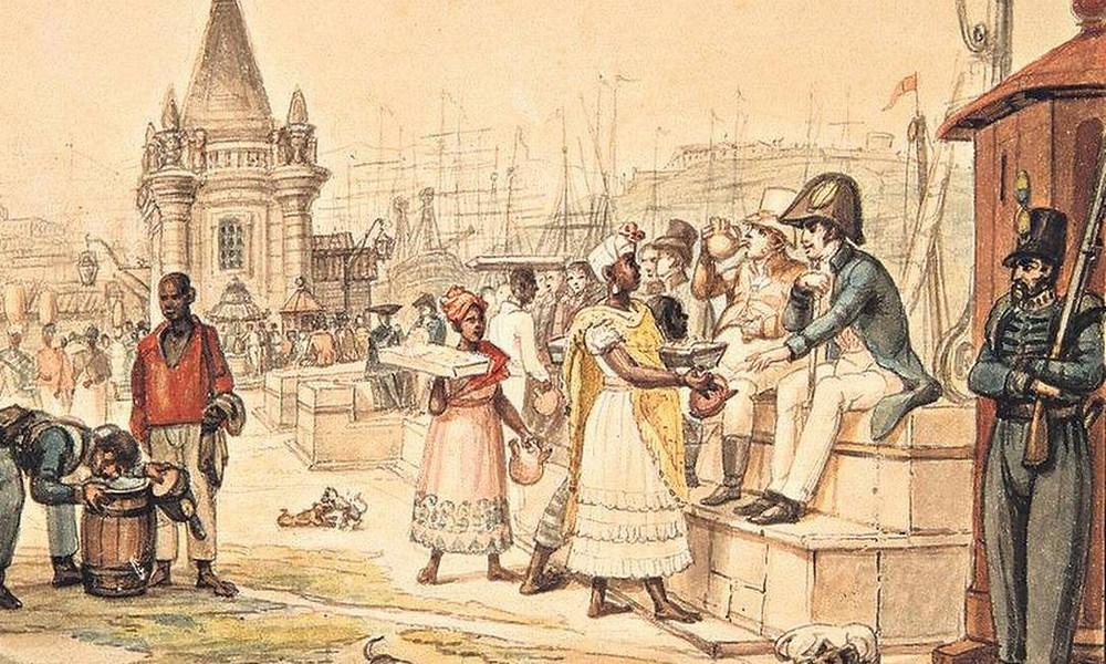 Praça Quinze, Jean-Baptiste Debret, c.1827.