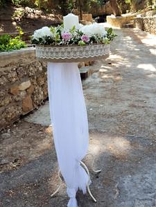 Λαμπάδα γάμου σε μανουάλι