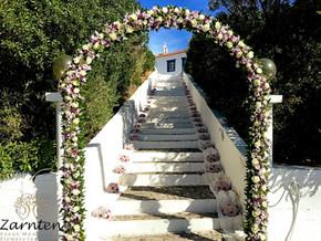 Αψίδα γάμου στο Πόρτο Χέλι