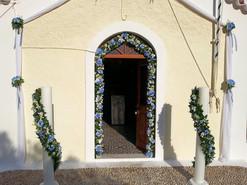 Στολισμός γάμου στην Αγία Μαρίνα