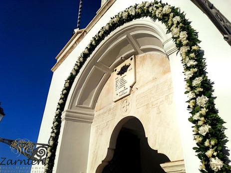 Αψίδα γάμου στον Άγιο Νικόλαο Σπετσών